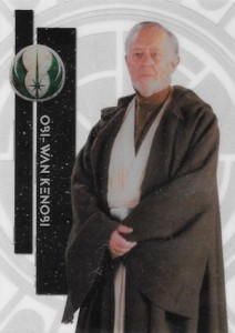 2015 Topps Star Wars High Tek Variation 37B Obi Wan Kenobi Old