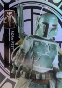 2015 Topps Star Wars High Tek Variation 44A Boba Fett