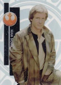 2015 Topps Star Wars High Tek Variation Han Solo 3B