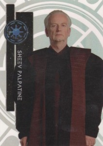 2015 Topps Star Wars High Tek Variation Sheev Palpatine 5A
