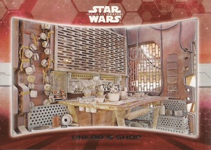 2015 Topps Star Wars The Force Awakens Series 1 Locations