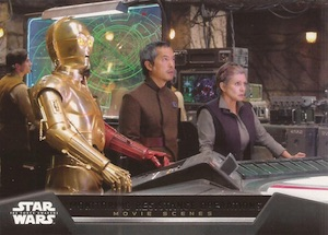 2015 Topps Star Wars: The Force Awakens Series 1 Trading Cards 34