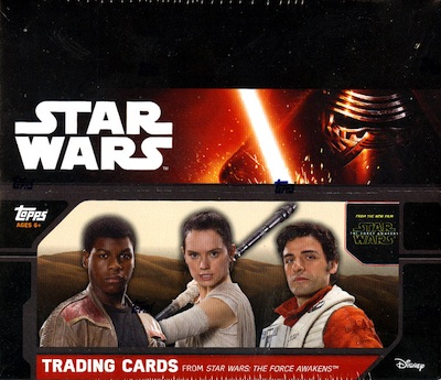 2015 Topps Star Wars- The Force Awakens Series 1 Special Edition Hobby Boxes