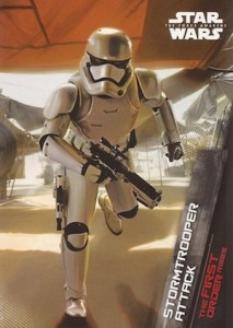 2015 Topps Star Wars The Force Awakens Series 1 The First Order Rises