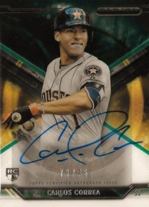 Detailed Carlos Correa Rookie Cards Guide and Checklist 11