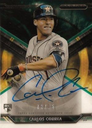 Carlos Correa Rookie Cards Checklist and Gallery 11