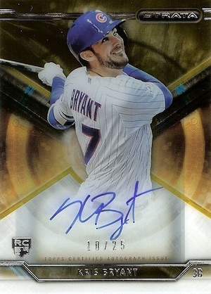 Kris Bryant Rookie Card Gallery and Checklist 16