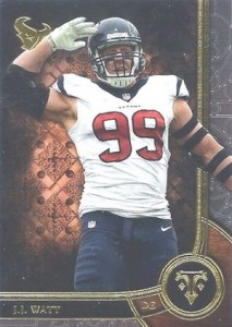 2015 Topps Triple Threads Football Base Watt