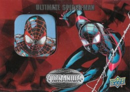 2015 Upper Deck Marvel Vibranium Single Manufactured Patch Spiderman