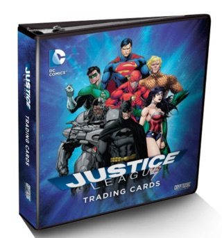 2016 Cryptozoic DC Comics Justice League Binder Album