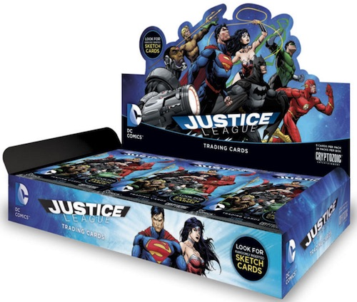 2016 Cryptozoic DC Comics Justice League box