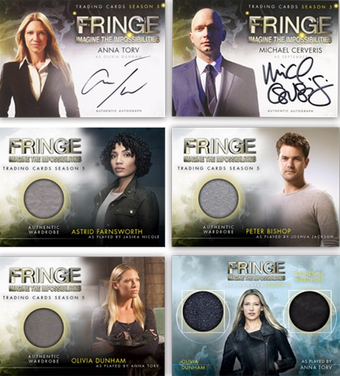 2016 Cryptozoic Fringe Season 5 Premium Collection Trading Cards 1