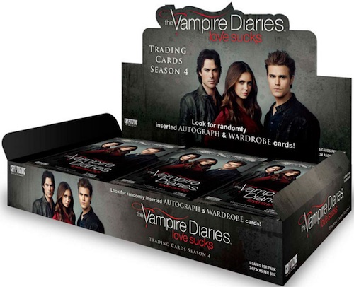 2016 Cryptozoic Vampire Diaries Season 4 Trading Cards 3