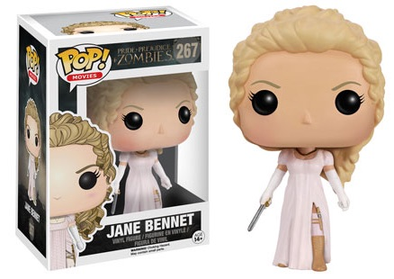 2016 Funko Pop Pride Prejudice Zombies Vinyl Figures 267 Jane Bennet