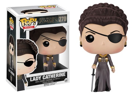 2016 Funko Pop Pride Prejudice Zombies Vinyl Figures 270 Lady Catherine