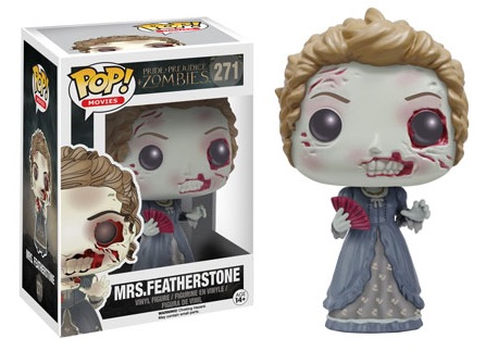 2016 Funko Pop Pride Prejudice Zombies Vinyl Figures 271 Mrs. Featherstone