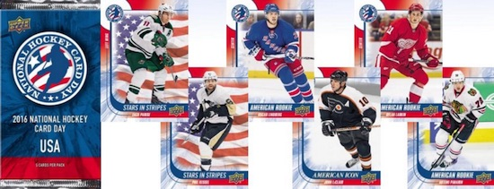 2016 Upper Deck National Hockey Card Day USA 1