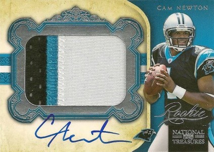 Cam Newton Rookie Cards Checklist and Autographed Memorabilia Guide 1