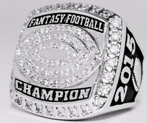 Celebrate Fantasy Football Glory with a Championship Ring, Trophy or Belt 2