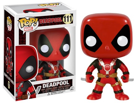 Funko Pop Deadpool Vinyl Figures 111 Two swords