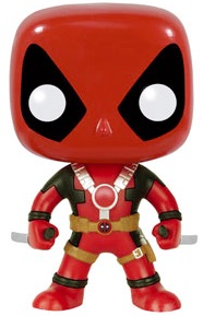 Funko Pop Deadpool Vinyl Figures 112 gun 1