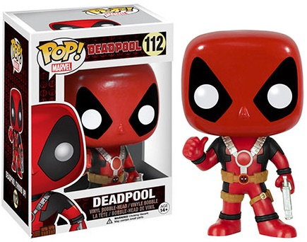 Funko Pop Deadpool Vinyl Figures 112 gun