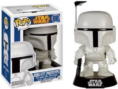 Funko Pop Star Wars 08 Boba Fett Prototype Exclusive Walgreens