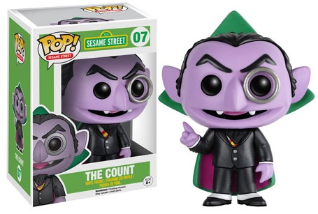 Funko Sesame Street Pop 07 The Count