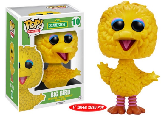 Funko Sesame Street Pop 10 Big Bert Super Sized 6