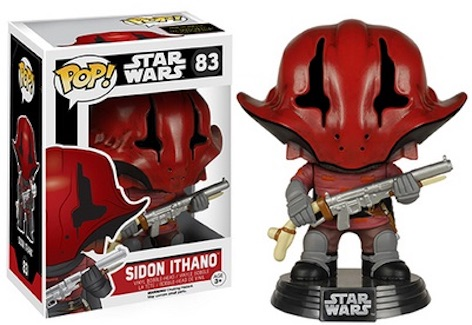 Funko Star Wars Pop 83 Sidon Ithano