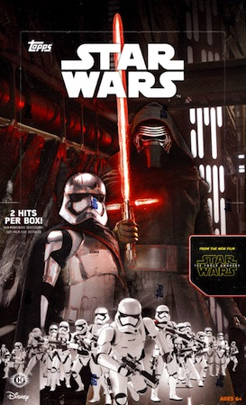 2015 Topps Star Wars: The Force Awakens Series 1 Trading Cards 44