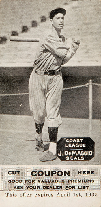 Top 10 Vintage Joe DiMaggio Cards 2