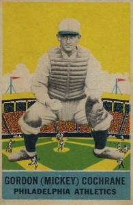 Top 10 Mickey Cochrane Baseball Cards 9