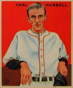 Top 10 Carl Hubbell Baseball Cards 10