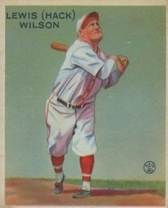 Top 10 Hack Wilson Baseball Cards 10