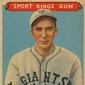 Top 10 Carl Hubbell Baseball Cards