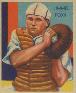 1934-1936 Diamond Stars Jimmie Foxx #64