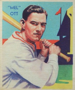 Top 10 Mel Ott Baseball Cards 10