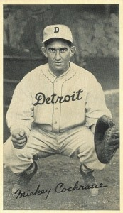 Top 10 Mickey Cochrane Baseball Cards 8