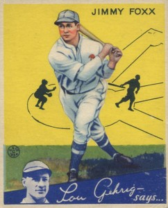 Top 10 Jimmie Foxx Baseball Cards 5