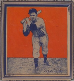 1934 Wheaties Series 1 Mel Ott