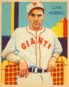 Top 10 Carl Hubbell Baseball Cards 5