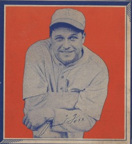 1935 Wheaties Series 1 Jimmie Foxx