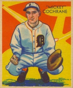 Top 10 Mickey Cochrane Baseball Cards 3