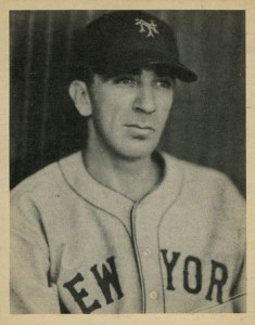 1939 Play Ball Carl Hubbell #53
