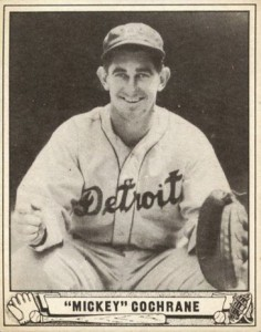 Top 10 Mickey Cochrane Baseball Cards 6