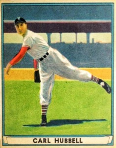1941 Play Ball Carl Hubbell #6