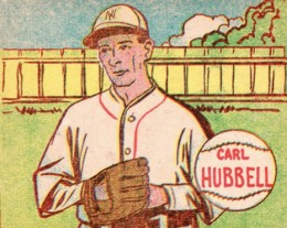 Top 10 Carl Hubbell Baseball Cards 1