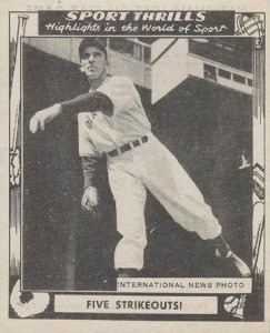 1948 Swell Sports Thrills Carl Hubbell #8