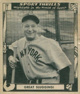 Top 10 Lou Gehrig Baseball Cards 2
